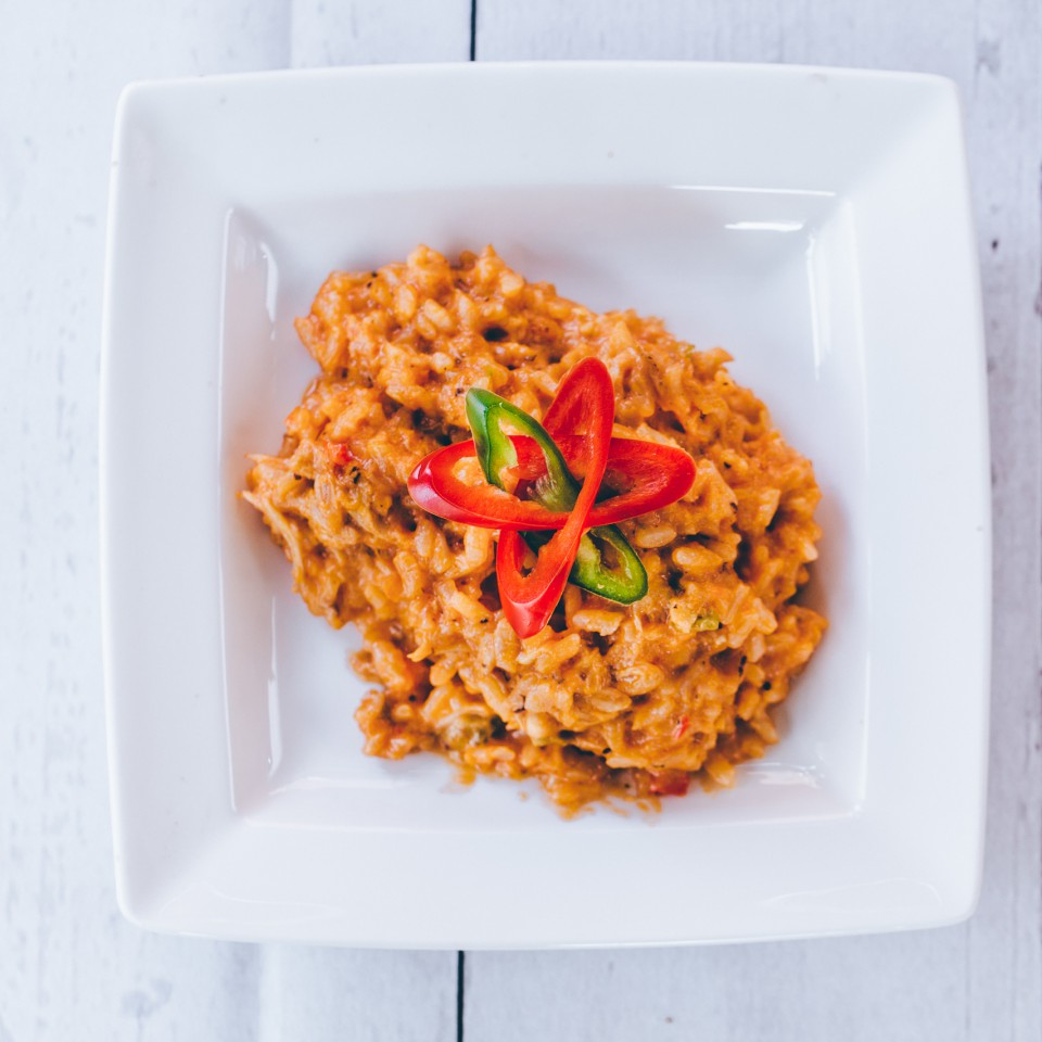 Risotto with crab (g.f)